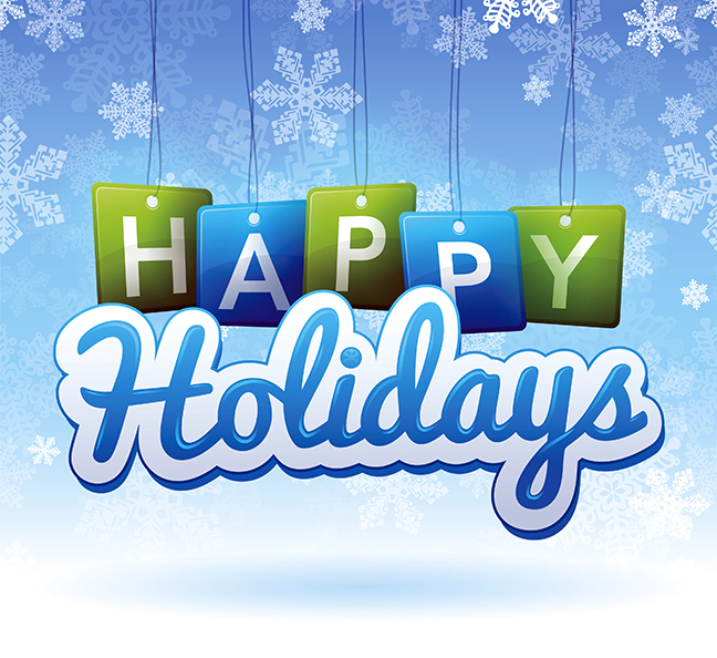 happy holidays and healthy prosperous new year